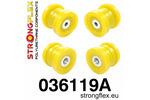 Zestaw tulei tylnego wózka SPORT E46|E46 Compact|E46 M3|E46 XI XD|E85 02-08|E86 02-08|X3 E83 03-10|Z4 E89|Z4 M E85/E86 STRONGFLEX
