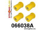 Zestaw poliuretanowy wahaczy tylnych SPORT Cinquecento 91-98|Panda II 4x4 03-12|Seicento 98-08 STRONGFLEX