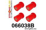 Zestaw poliuretanowy wahaczy tylnych Cinquecento 91-98|Panda II 4x4 03-12|Seicento 98-08 STRONGFLEX