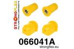 Zestaw poliuretanowy wahaczy przednich SPORT Cinquecento 91-98 Seicento 98-08 Uno 83-02 STRONGFLEX