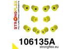 Zestaw poliuretanowy zawieszenia przedniego SPORT NB 99-05 STRONGFLEX