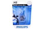 Żarówka H3 Philips WhiteVision Ultra PK22S 12V 55W