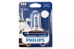 Żarówka H4 Philips WhiteVision P43T 12V 60/55W