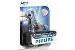 Żarówka H11 Philips Blue Vision Ultra PGJ19-2 12V 55W