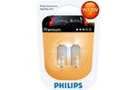 Żarówki W1,2W Philips Premium W2x4.6d 12V 1,2W (komplet - 2szt.)