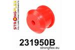 Tuleja ramy tylnej osi – tylna 740 84-90|940 90-98 STRONGFLEX