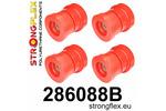 Zestaw tulei tylnego wózka 200SX S13 88-93 200SX S14 94-99 200SX S15 99-02 300ZX Z32 90-96 R32 89-94 R33 93-98 R34 97-02 STRONGFLEX