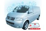 Osłona przeciwszronowa Winter Delivery Van (kolor czarny)
