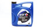 Olej ELF Evolution 900 SXR 5W30 4 litry