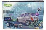 Czujniki parkowania VALEO Beep&Park - zestaw na przód i tył
