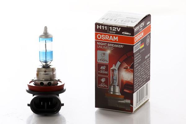 ar wka h11 osram night breaker unlimited pgj19 2 12v 55w. Black Bedroom Furniture Sets. Home Design Ideas