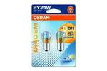 Żarówki PY21W Osram Diadem Chrome BAU15s 12V 21W (komplet - 2szt.)