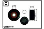 Rolka kierunkowa, prowadząca paska klinowego zębatego CAFFARO 80-40 CAFFARO 80-40