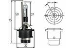 Żarnik ksenonowy D2R Hella Standard P32D-3 85V 35W