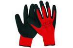Rękawice robocze VIRAGE typ 614 poliester, powlekane lateksem