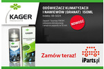 Odświeżacz klimatyzacji i nawiewów Kager Journey Fresh 150 ml