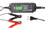 Inteligentny elektroniczny prostownik samochodowy napięcie  6 / 12V Natężenie  0.8 / 3.8AMaksymalna pojemność 120A/h                                          do wszystkich rodzajów akumulatorów,    wyświetlacz LCD