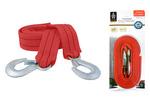 Linka holownicza z hakami, mocna i elastyczna taśma, długość  4,5m, udźwig  3,0t