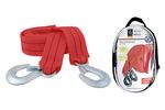 Linka holownicza z hakami Rozmiar 9x3 cm        Długość  4,5 mUdźwig  3,0t, pakowana - zamykana torba z tkaniny