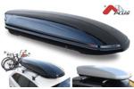 Bagażnik dachowy - box MENABO Mania 320 PS (czarny - udźwig 50kg)