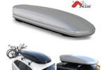 Bagażnik dachowy - box MENABO Mania 320 PS (srebrny - udźwig 50kg)