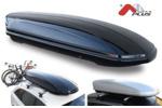 Bagażnik dachowy - box MENABO Mania 460 ABS (czarny - udźwig 75kg)