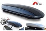 Bagażnik dachowy - box MENABO Mania 580 ABS (czarny - udźwig 75kg)