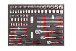 Szafka narzędziowa garage z narzędziami 161 elementów
