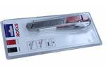 Nożyk z ostrzem łamanym, metalowy 18 mm, 5 ostrzy
