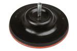 Tarcza gumowa z rzepem 125 mm stała