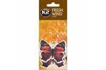 Zapach samochodowy K2 Fresh Wind Duopack zawieszka motyl vanilla