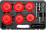 Komplet kluczy nasadowych kompozytowych do filtrów oleju (15 sztuk)