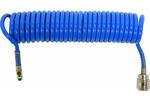 Wąż spiralny pneumatyczny z szybkozłączką 5.5x8x5m