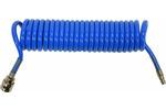 Wąż spiralny pneumatyczny z szybkozłączką 6.5x10x5m