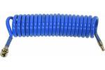 Wąż spiralny pneumatyczny z szybkozłączką 8x12x5m