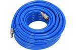 Wąż pneumatyczny pvc z szybkozłączką 8mm x 20m