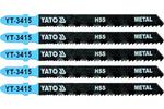 Brzeszczoty do wyrzynarki metal typ t 24-10tpi 5 sztuk
