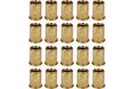 Nitonakrętki stalowe m6, 20 sztuk
