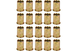 Nitonakrętki stalowe m8, 20 sztuk
