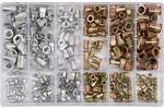 Zestaw nitonakrętek mix stal ialu m3-m10 300 sztuk
