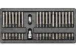 Wkład do szuflady końcówki śrubokrętowe 40 części