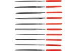 Zestaw pilników iglaków 10 części 5x180x85mm