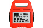Prostownik elektroniczny YATO 6/12V 8A 5-200Ah